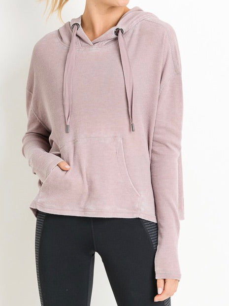 Ready to Roll Hoodie | Mauve