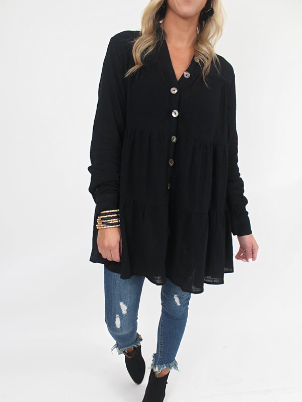 Faithful Tunic | Black
