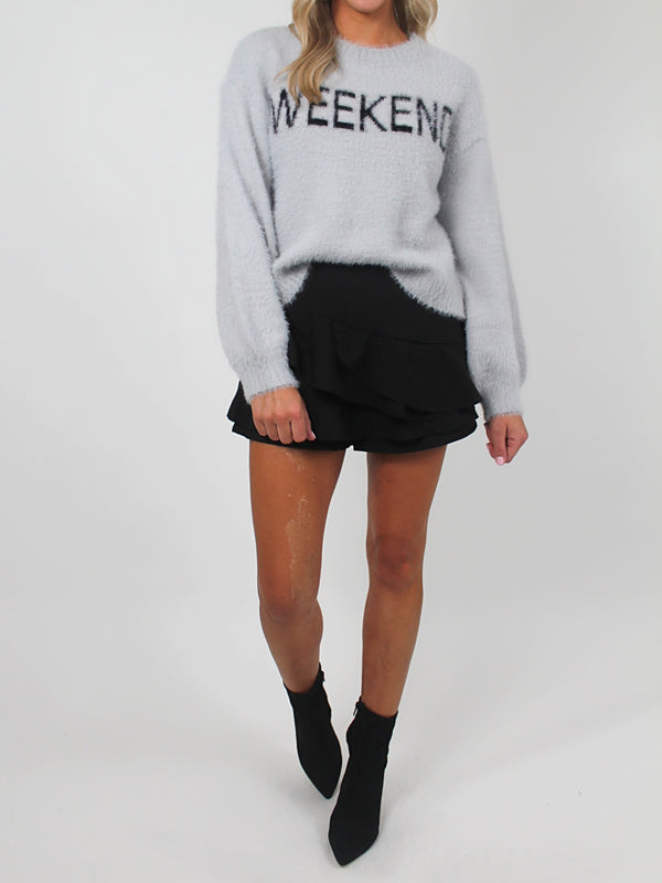 Cheers to the Weekend Sweater