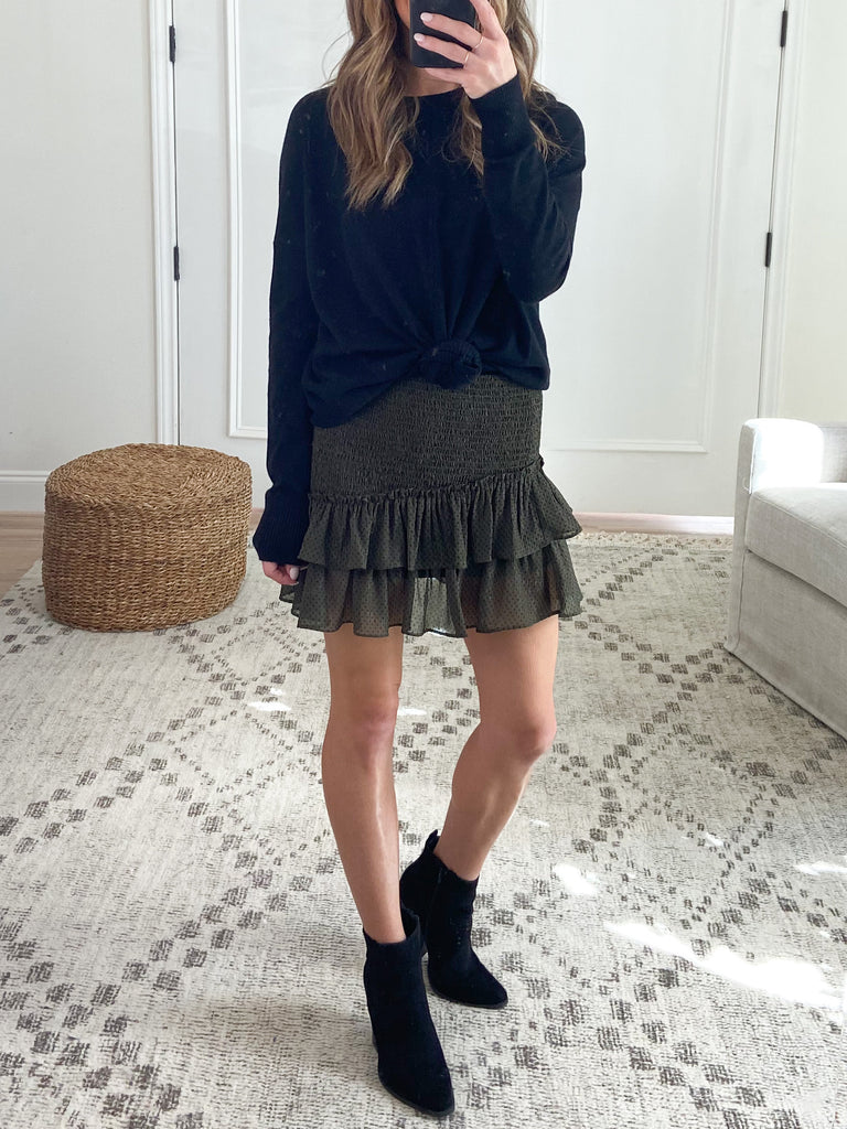 The Valley Ruffle Skirt