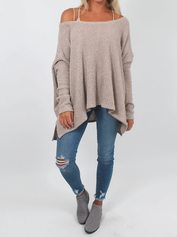 Slouchy Sweater l Oatmeal