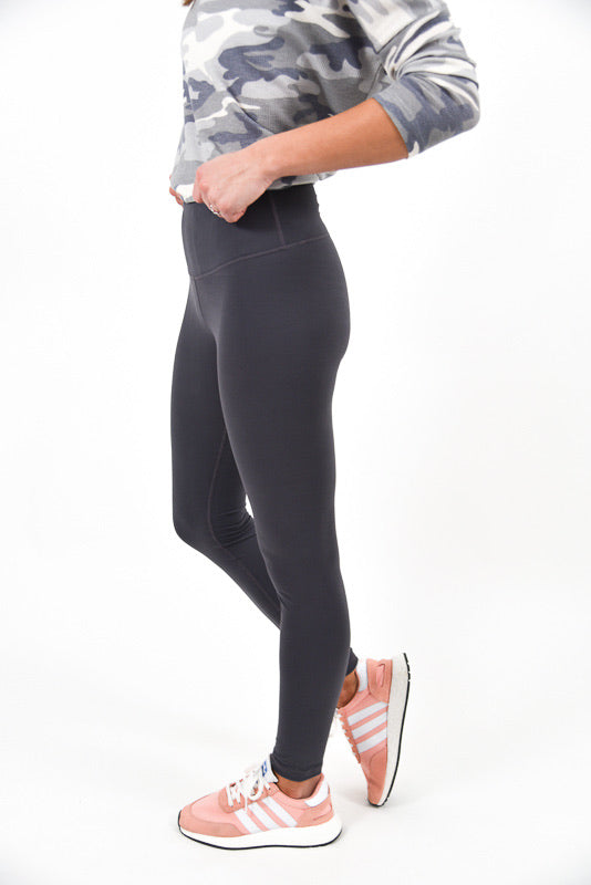 Super Soft Leggings | Charcoal | +Plus Available