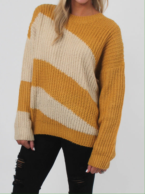 Sunrise Striped Sweater