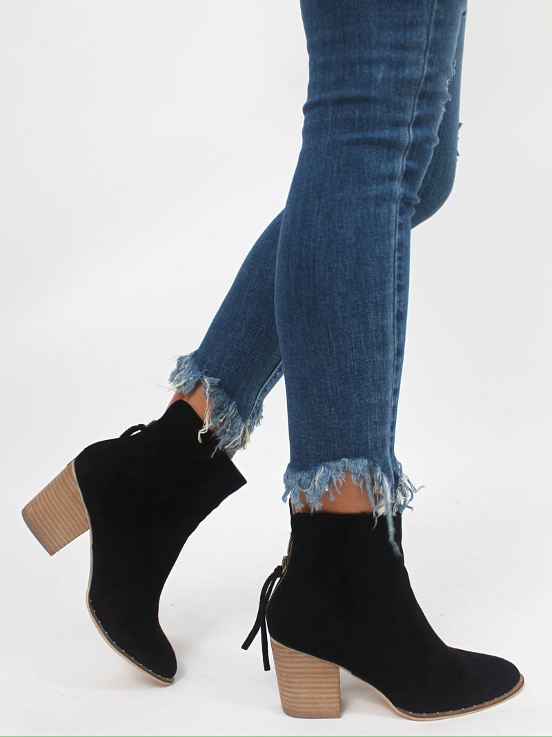 The Everly Bootie | Black