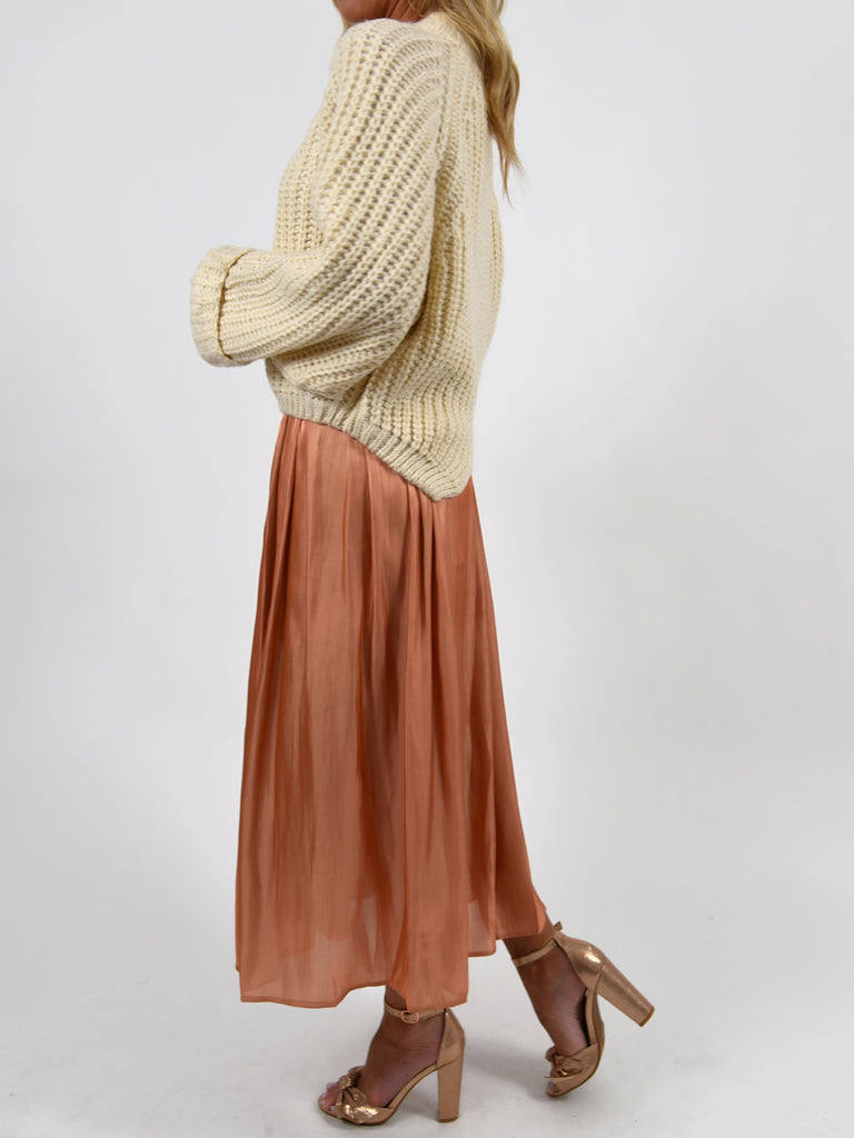 Liv Chunky Knit Sweater | Cream | FINAL SALE