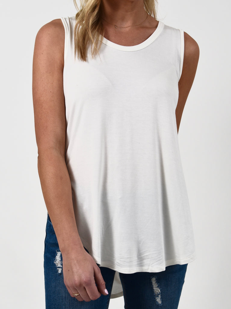 Must Have Scoop Neck Tank