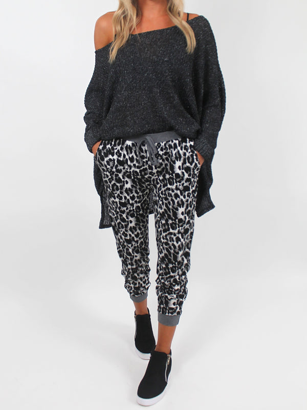 Slouchy Sweater | Charcoal