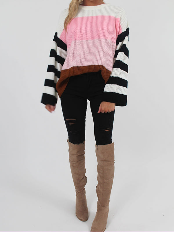 Serena Striped Sweater