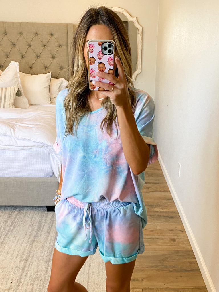 Rip Tide Tie-Dye Tee | Cotton Candy | +Plus Available