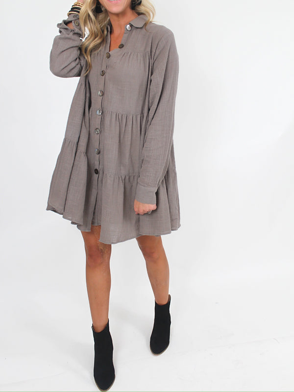 Faithful Tunic | Grey