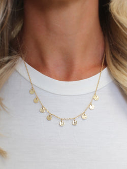 Mystic Coin Necklace | Gold