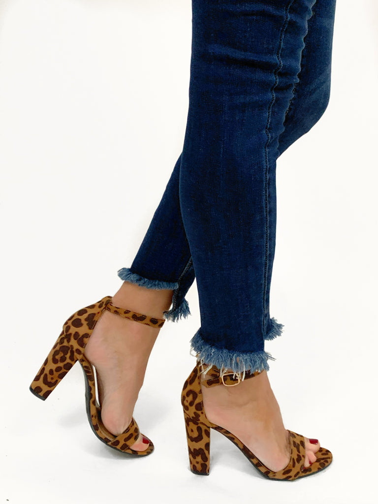 Valentina Leopard Block Heel | FINAL SALE