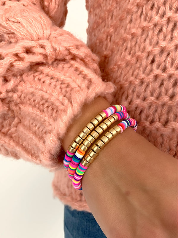 Must Have Bracelet Stack | Bright Multi