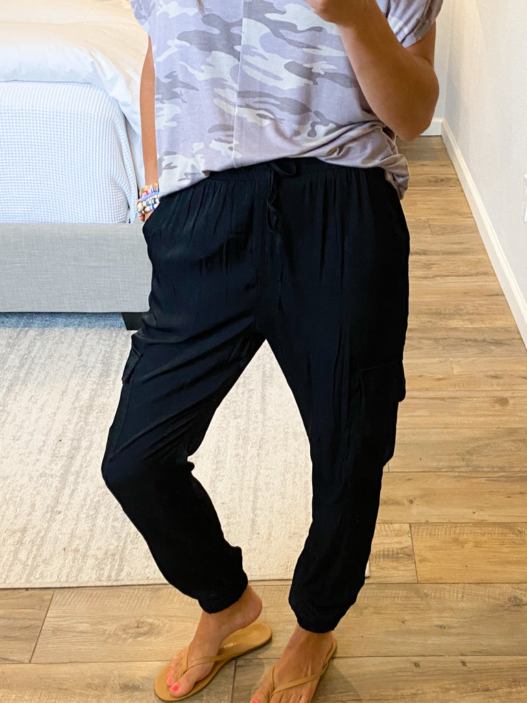 Last Call Utility Pants | Black | FINAL SALE