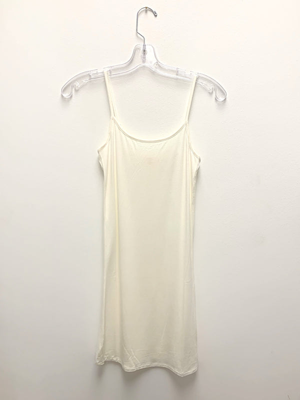 Tank Slip Dress | Cream