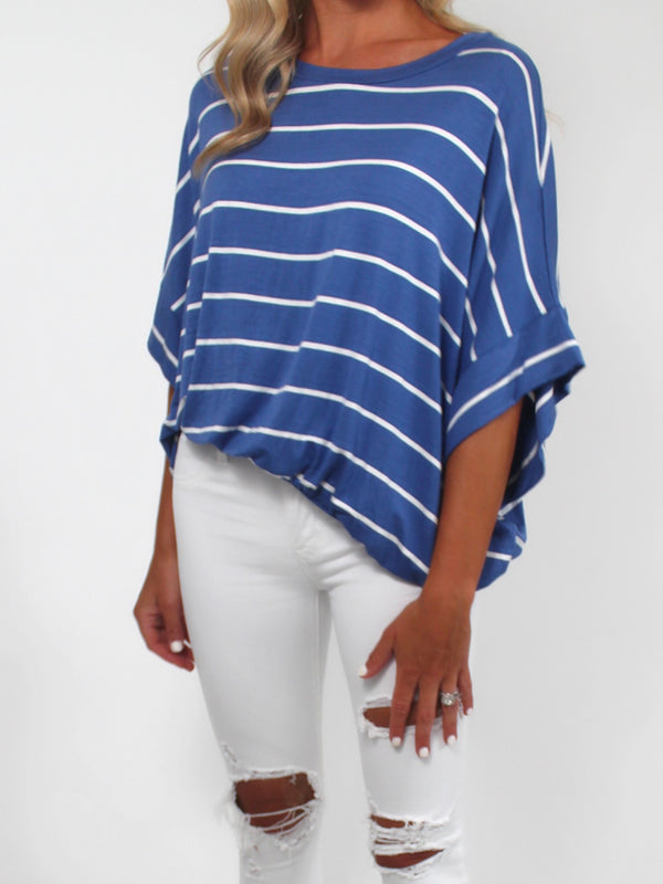 Head in the Clouds Striped Tee