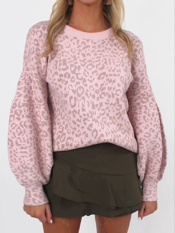 Perri Puff Sleeve Sweater