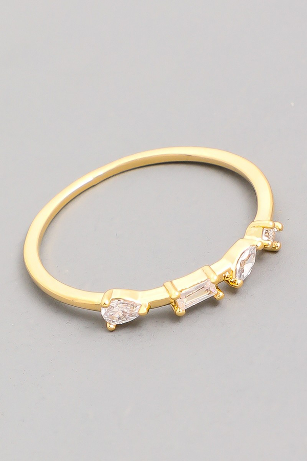 Delicate Stackable Ring | Gold