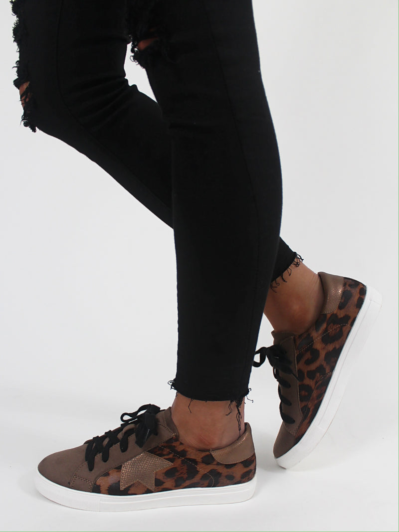 Nash Sneakers | Leopard