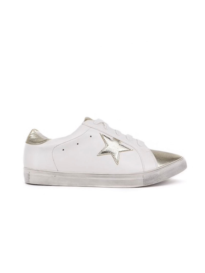 Gold Star Sneakers | SIZE UP!