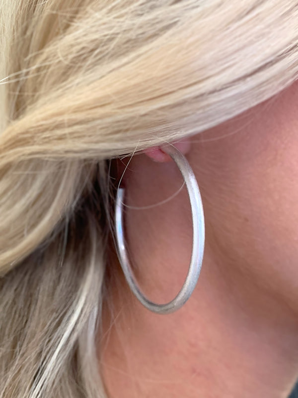 The Thick Hoops | Silver