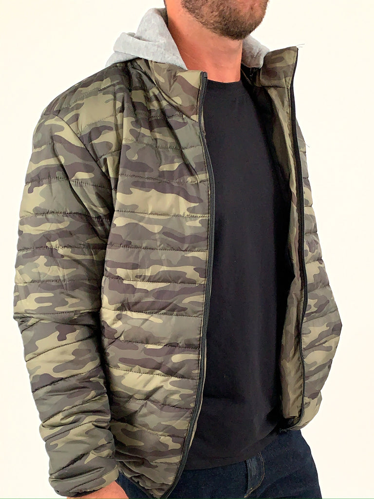 Reynolds Camo Jacket | TAL | Olive | FINAL SALE