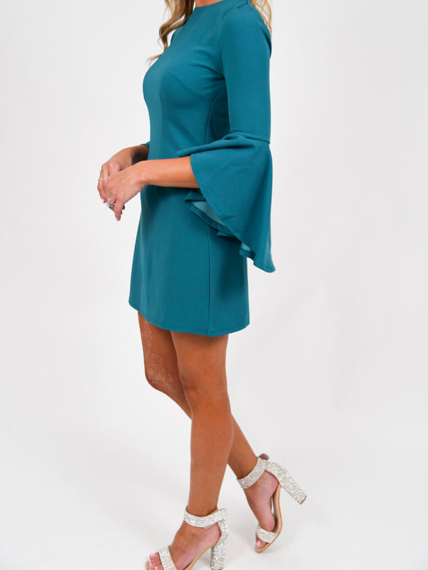 Out for the Night Dress | Teal