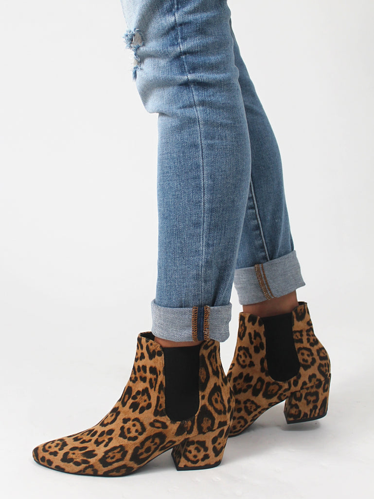 Abigail Leopard Bootie | FINAL SALE