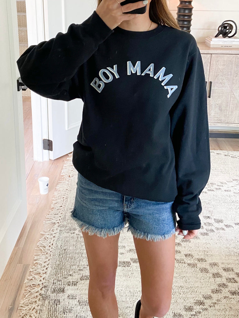 Boy Mama Pullover | +Plus Available