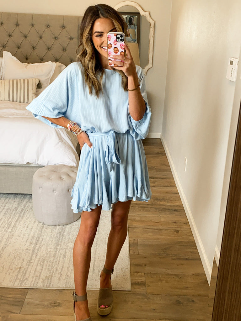 Gotta Have It Dress | Baby Blue