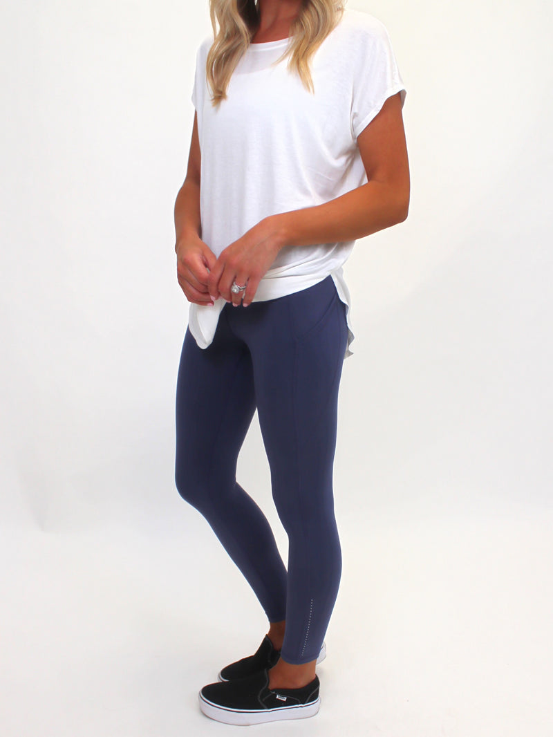 Reflection Leggings | Ocean (S-3X)