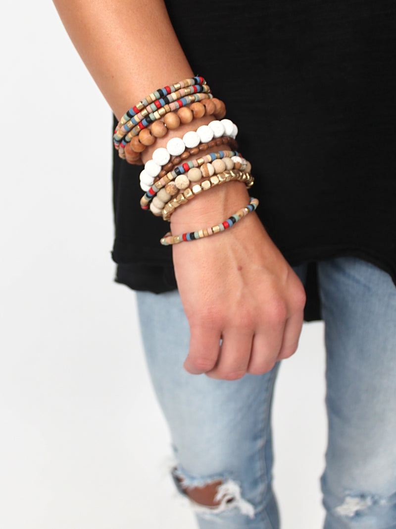 Scottie Beaded Stack