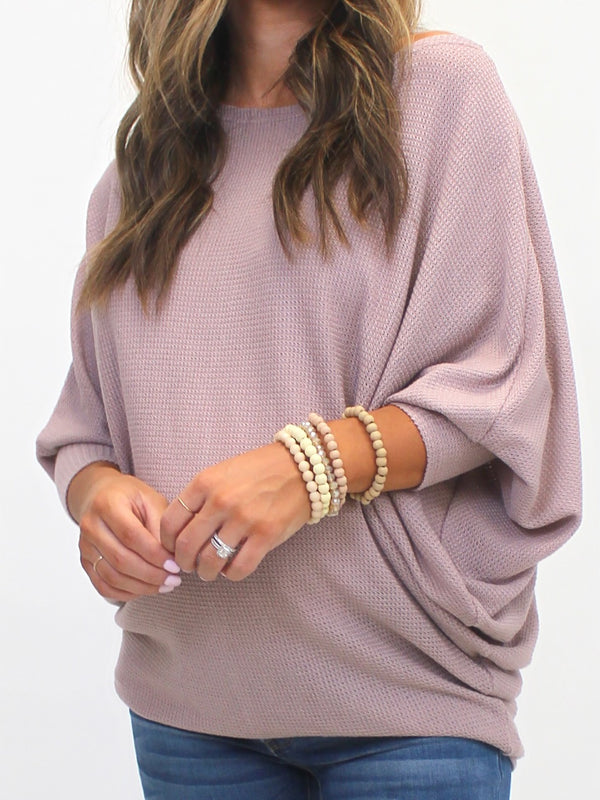 Wind Down Soft Top | Mauve