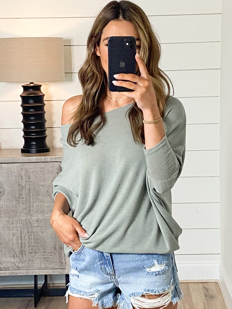 Favorite Tunic Top | Sage | +Plus Available