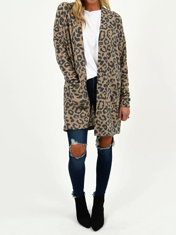 Let There Be Leopard Cardigan | S-XL