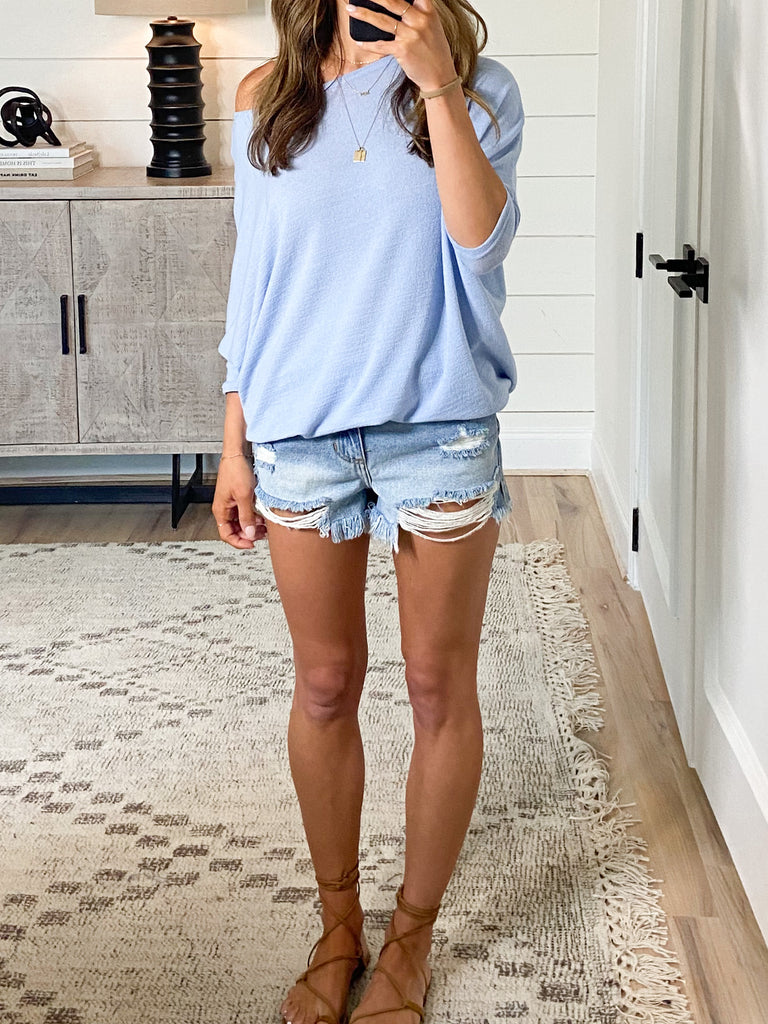 Favorite Tunic Top | Sky | +Plus Available