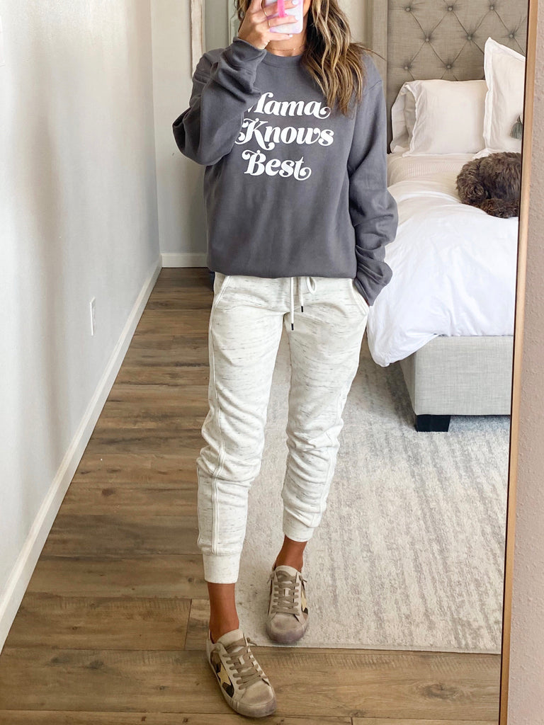 Mama Knows Best Sweatshirt | +Plus Available