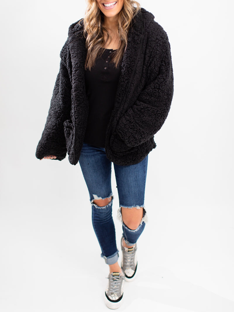 Warm Me Up Jacket | Black