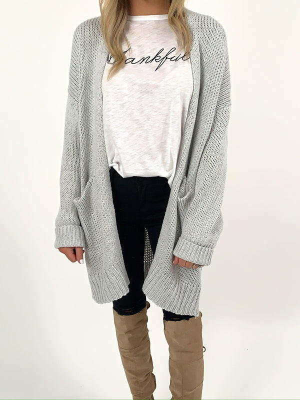 Market Sweater Cardigan