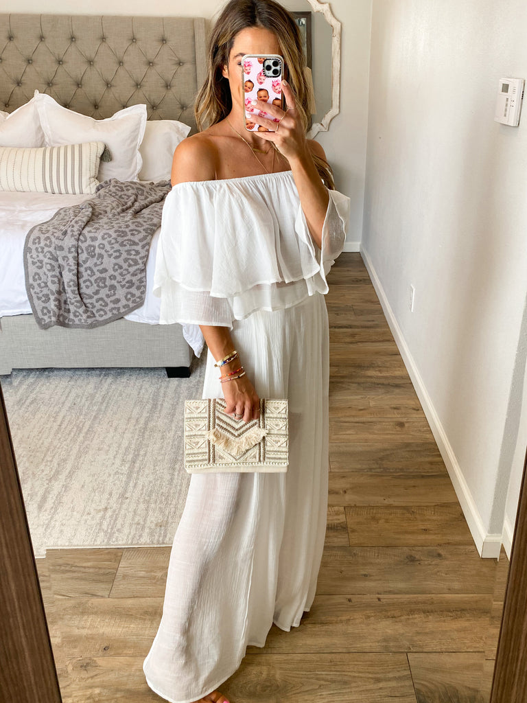 My Way Two-Piece Set | White