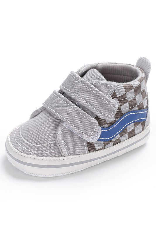 Tiny Talulah Crib Sneaks | Grey