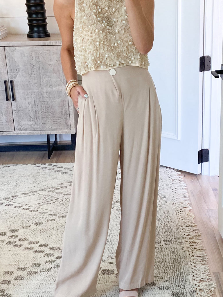 All About It Wide Leg Pants