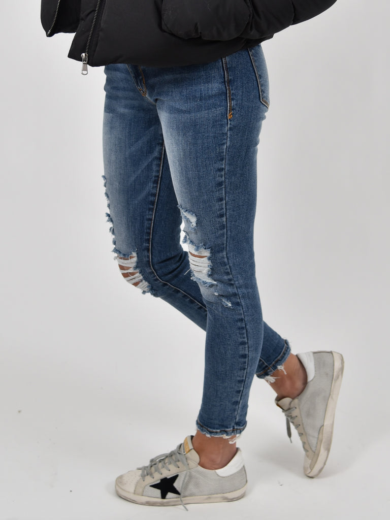 Stella Dark Denim Skinny | FINAL SALE