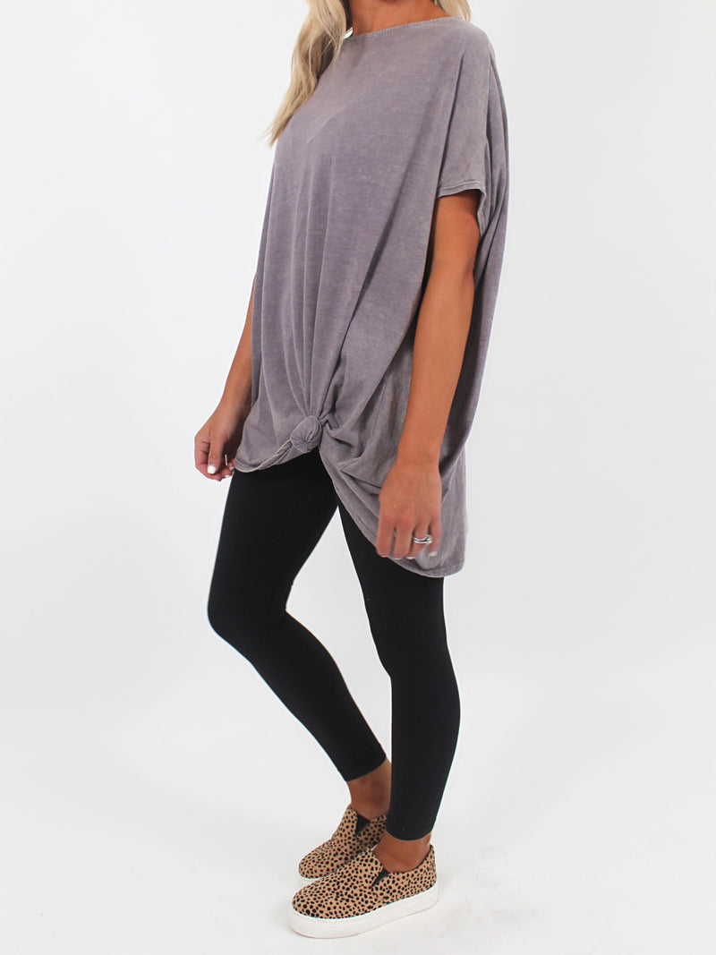 Oversized Tee l Lavender