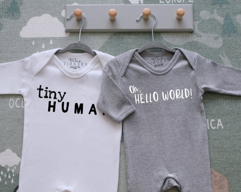 Hello World Sleepsuit