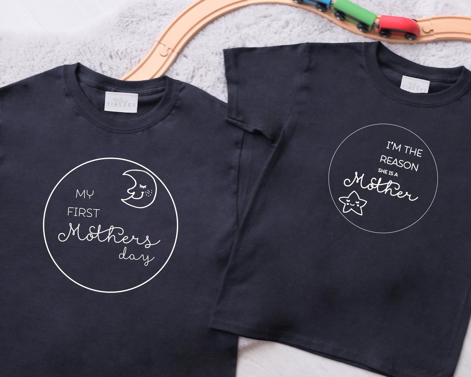 Children's Mothers Day Moon & Stars Bodysuit/ Sleepsuit/ TShirt