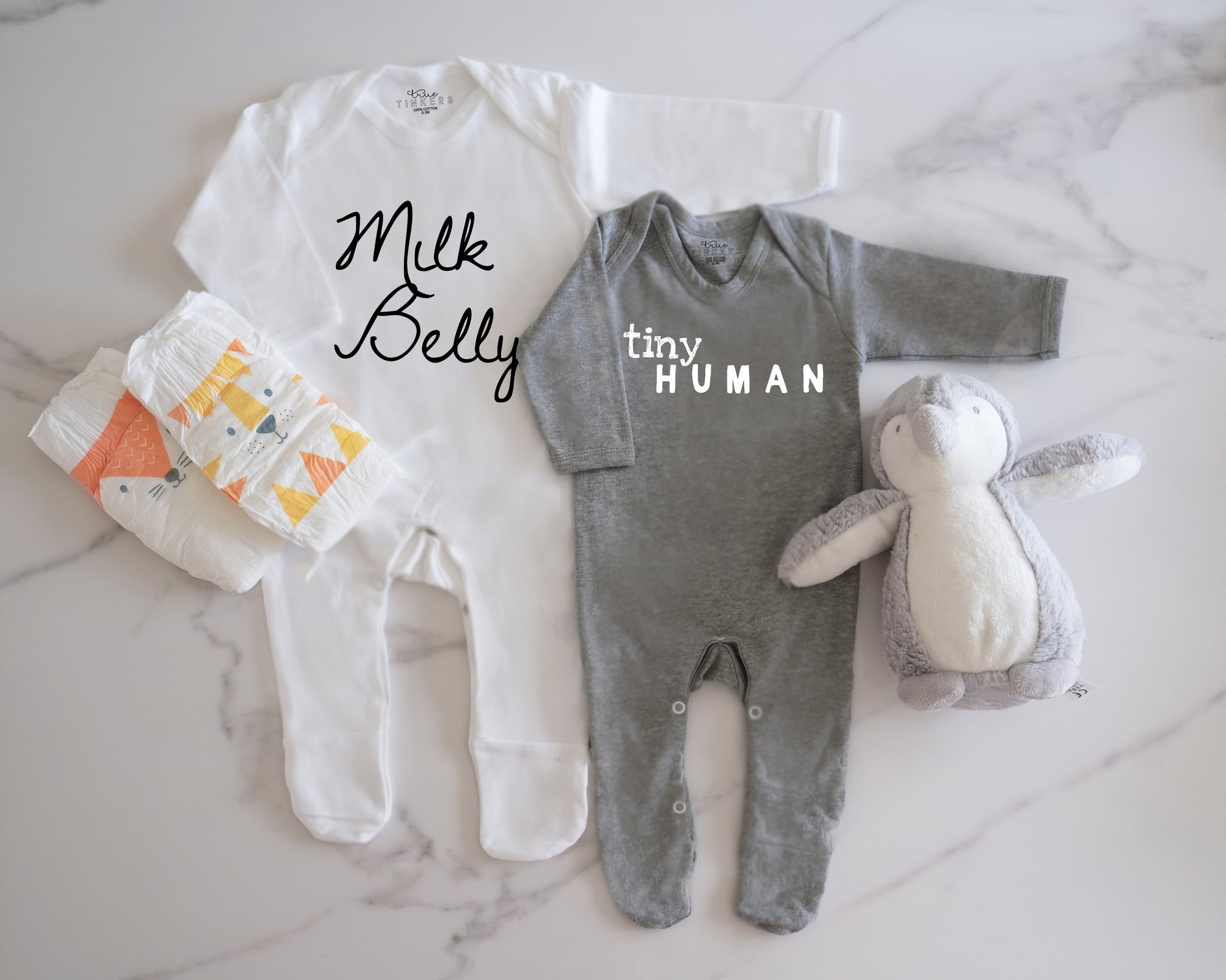 Milk Belly Sleepsuit