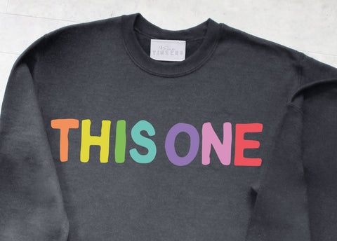 Childrens This One That One Sweatshirt