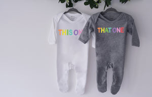 This One That One Sleepsuit