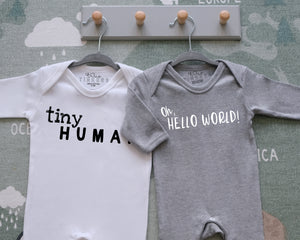 Tiny Human Sleepsuit